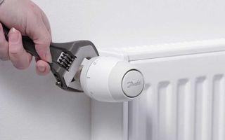Подбор и монтаж терморегулятора для радиатора отопления