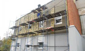 Ремонт фасадом зданий