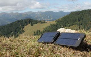 Правильный выбор солнечной батареи для туристов