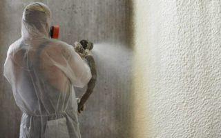 Утепление дома с помощью вспененного полиуретана