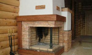 Особенности строения и кладки углового камина из кирпича