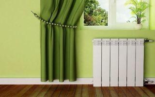 Расчет количества секций биметаллических радиаторов отопления