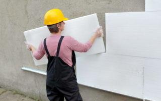 Вопрос №10 — В какую погоду можно клеить пенопласт на стены?