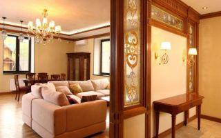 Обзор популярных видов комнатных перегородок