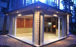 Как создать на участке комфортную зону для отдыха в любую погоду