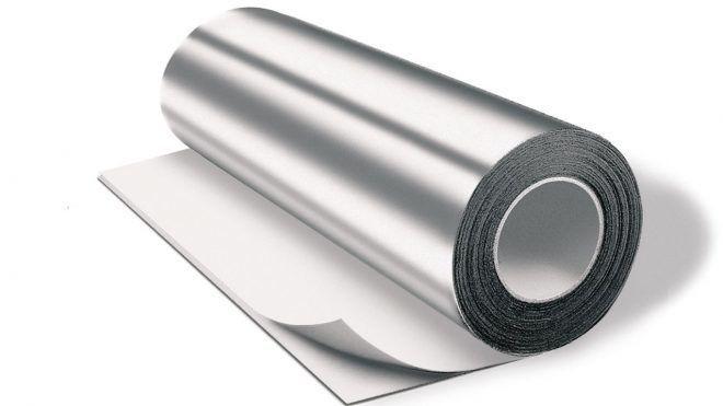 Алюминиевая фольга для теплоизоляции