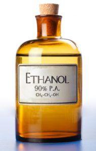 Этанол служит для биокаминов как топливо