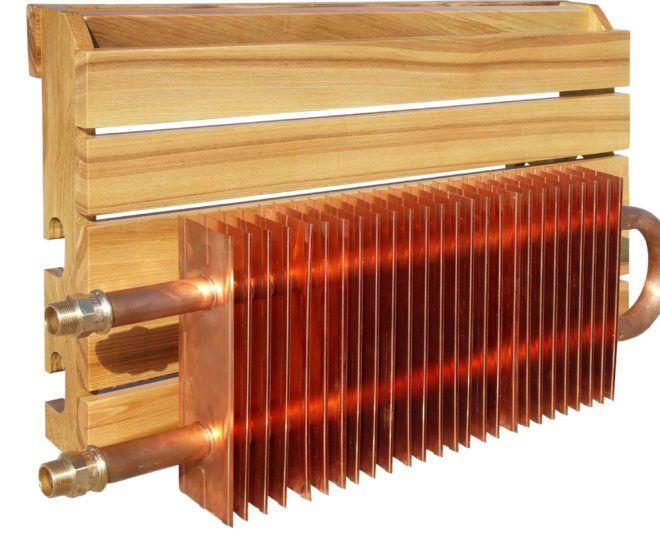 Радиатор отопления медный