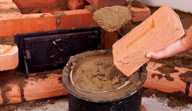 Раствор из глины