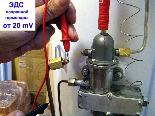 Термопары для газового котла