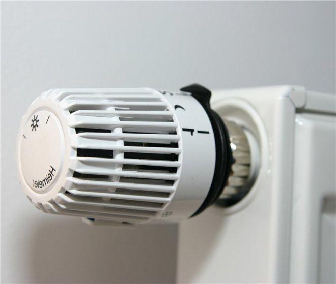 Терморегулятор для радиатора отопления с ручной настройкой