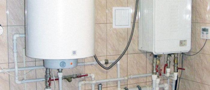 Установка водонагревателей