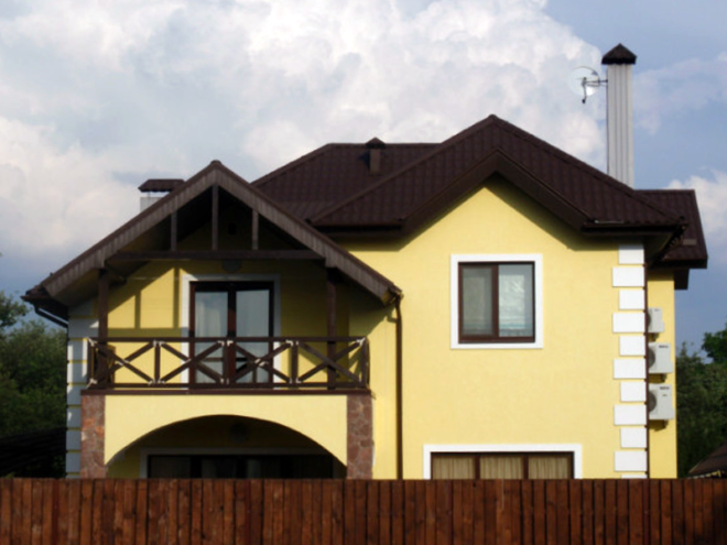 Утепление фасада частного дома