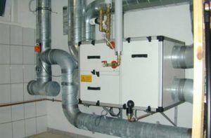 Приточно-вытяжная вентиляционная система