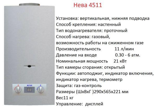 Колонка Neva модель 4511