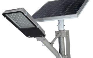 Преимущества освещения на солнечных батареях