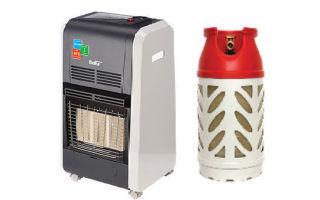 Выбор газового обогревателя для дачи с баллоном