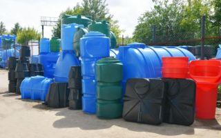 Виды пластиковых емкостей