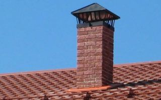 Правила расчета высоты дымохода по отношению к коньку крыши