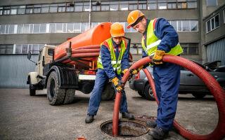 Обслуживание канализационных сетей