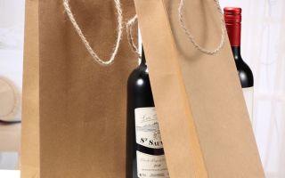 Почему крафт-пакеты для вина – идеальный источник рекламы