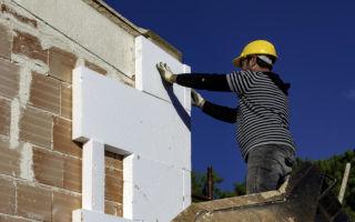 Теплоизоляция дома и способ отделки фасада