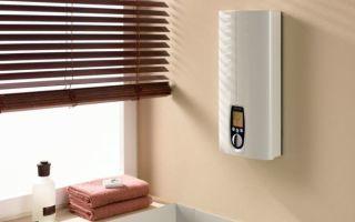 Рекомендации по выбору и установке проточного водонагревателя