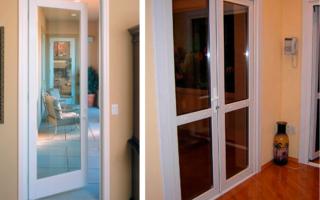 Межкомнатные пластиковые двери и их преимущества