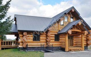 Почему стоит строить бревенчатый дом из кедра