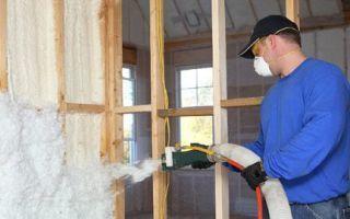 Использование утеплителя для защиты стен изнутри в условиях дачи