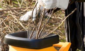 Как выбрать садовые измельчители веток