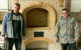 Кладка печей и каминов печниками Игорь и Роман