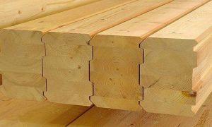 Клееный брус из лиственницы для дачного строительства