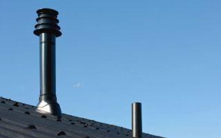 Устройство дымохода в частном доме для газового котла