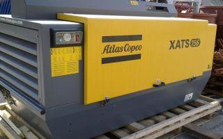 Компрессор Atlas Copco — отличное решение для любых строительных работ.