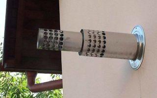 Выбор и установка коаксиального дымохода для газового котла
