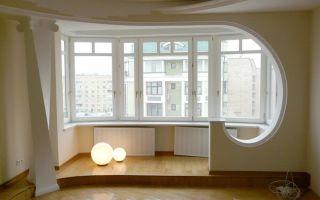 Присоединяем балкон к комнате – правильно расширяем жилплощадь