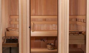 Двери являются неотъемлемой частью любой сауны