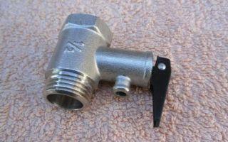 Особенности установки обратного клапана на водонагреватель