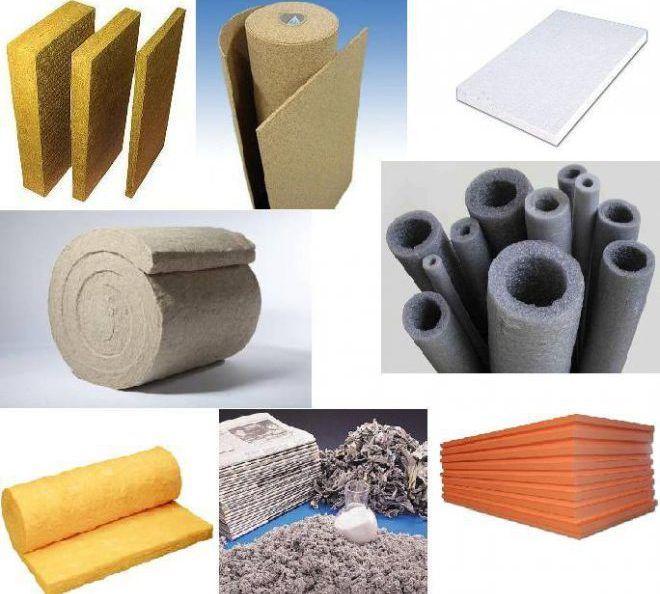 Современные материалы для утепления