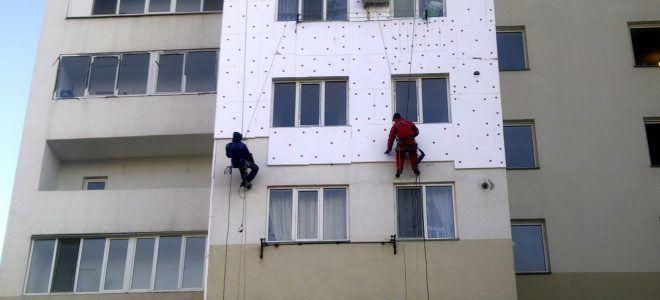 Утепление жилых домов