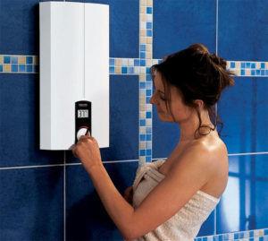 Переключение фаз на водонагревателе