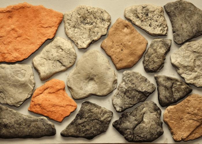 Камень для декоративного камина