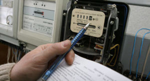 Оплата за переустановку электросчетчика