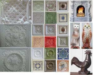 Популярные виды изразцов которые могут украсить ваш камин