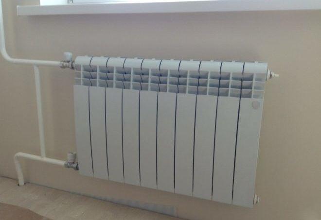 Биметаллические радиатор