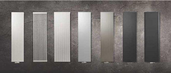 Радиаторы вертикального типа