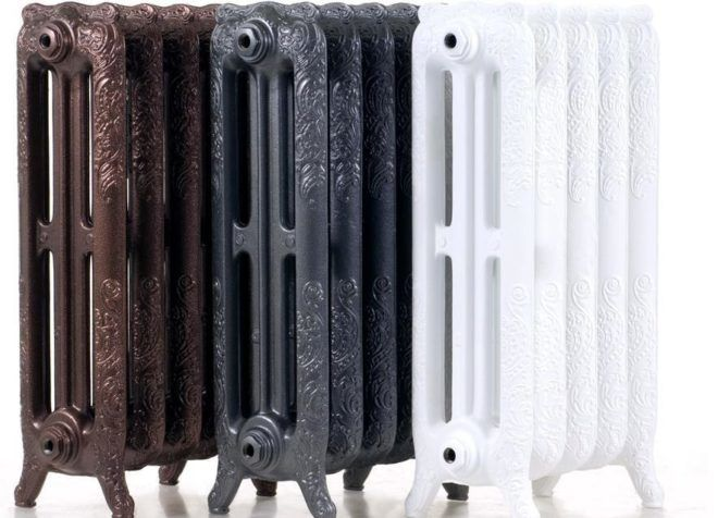 Разнообразие чугунных декоративных радиаторов