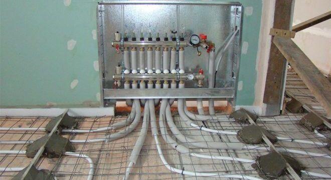 Схема систем отопления в частном доме