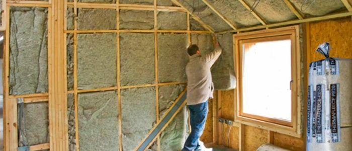 Утепление эковатой стен домов3